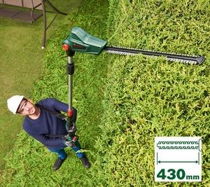 Performances du taille-haie électrique Bosch UniversalHedgePole 18